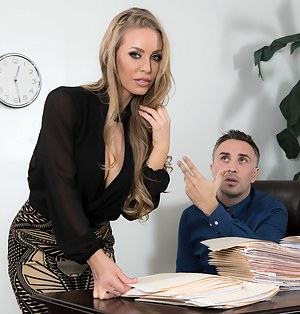 Hot Office Mature Porn Pictures