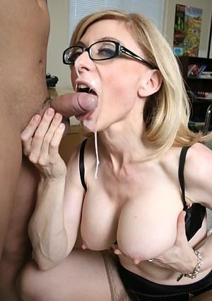 Hot Mature Facial Porn Pictures