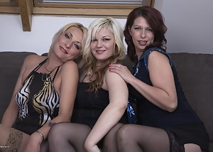 Hot Mature Lesbian Orgy Porn Pictures